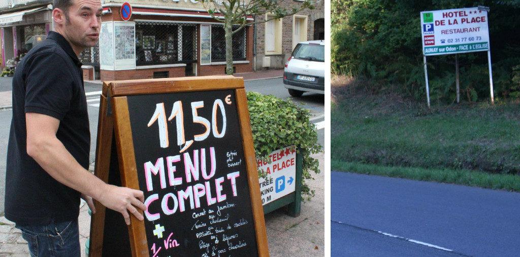 Le GNI demande aux députés de supprimer l'interdiction des préenseignes en zone ruraleet dans les agglomérations de moins de 10 000 habitants pour les restaurants et les hôtels